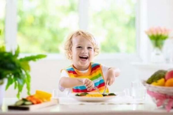 Correcta alimentación durante la infancia