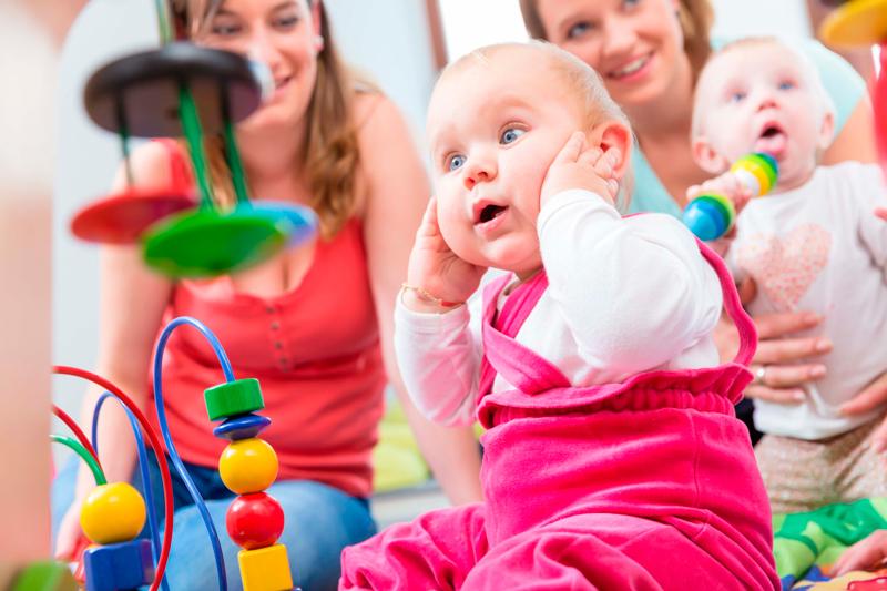 afrontar los primeros días de escuela infantil