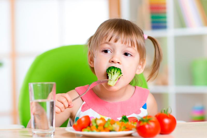 comer verduras