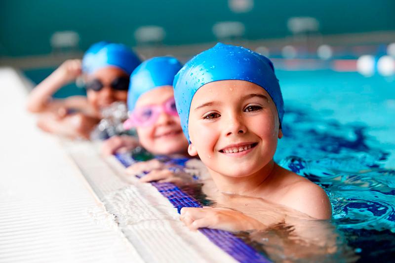 natación para los niños